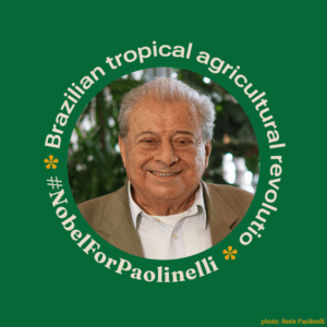 Brazilian tropical agricultural revolution #NobelForPaolinelli